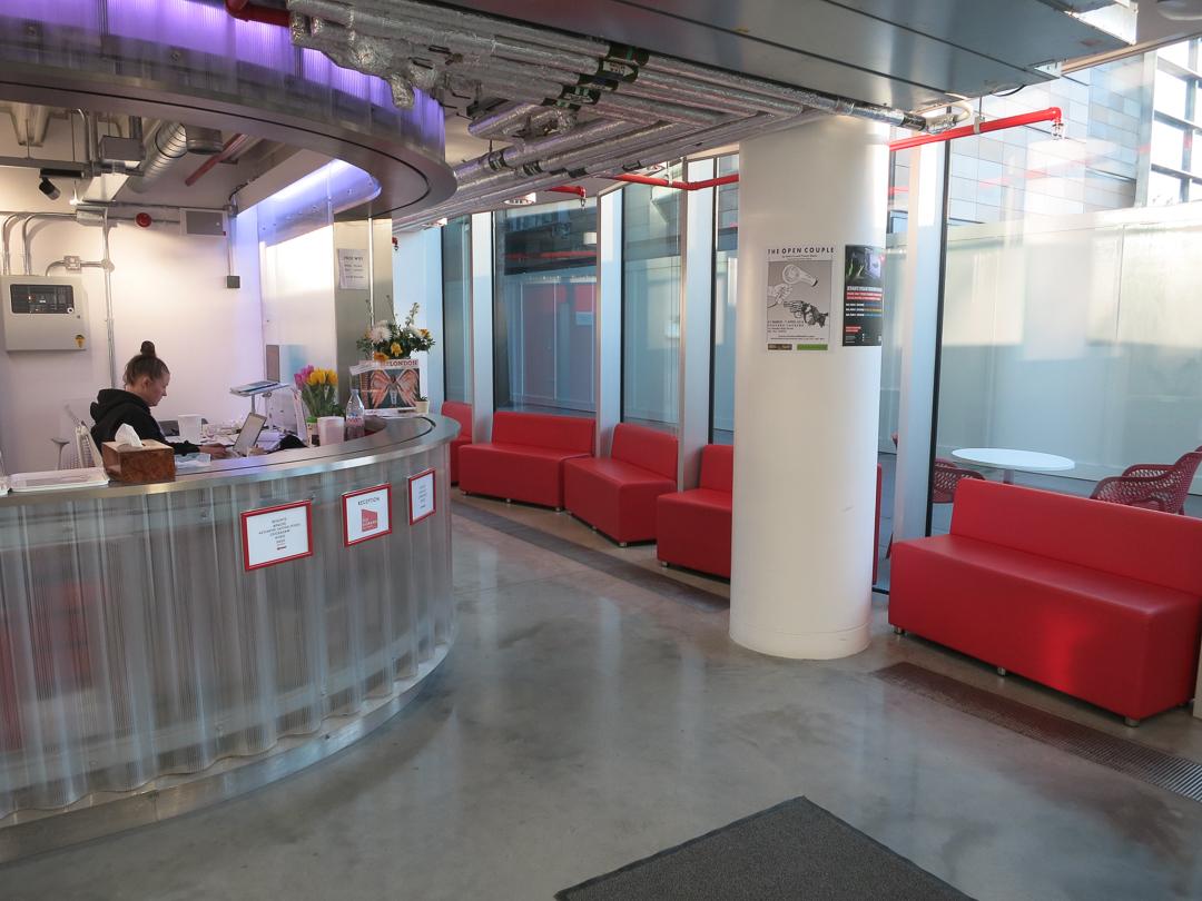 Diorama waiting areas
